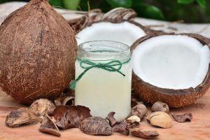 homemade remedy for sore throat - coconut oil