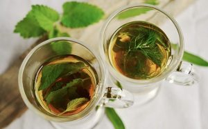 peppermint tea for cough - herbal tea