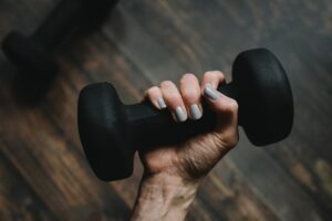 ways to boost metabolism - dumbbell